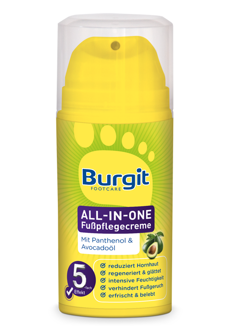 All-In-One Fußpflegecreme